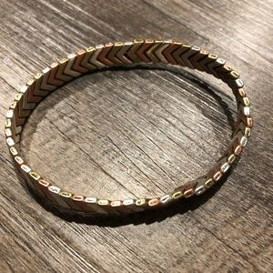 Premier Designs mixed metal bracelet